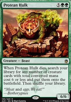 Masters 25: Protean Hulk