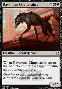 Masters 25: Ravenous Chupacabra