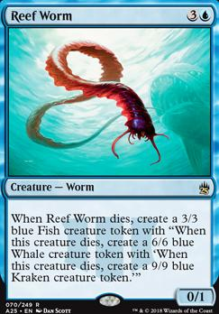 Masters 25 Foil: Reef Worm