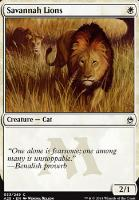 Masters 25: Savannah Lions