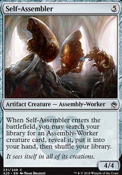 Masters 25 Foil: Self-Assembler