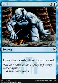 Masters 25 Foil: Sift