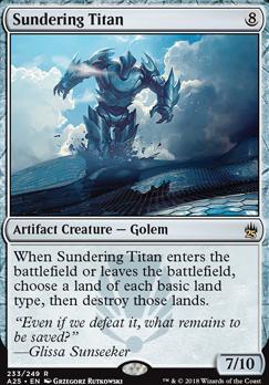 Masters 25: Sundering Titan