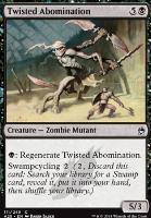 Masters 25 Foil: Twisted Abomination