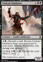 Masters 25: Undead Gladiator