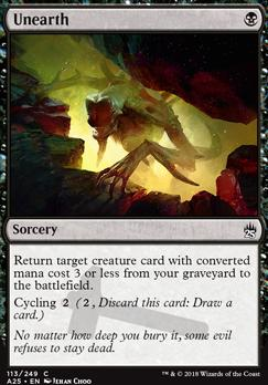 Masters 25: Unearth
