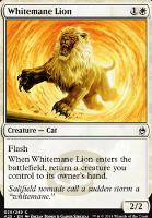 Masters 25: Whitemane Lion