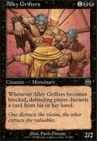 Mercadian Masques Foil: Alley Grifters