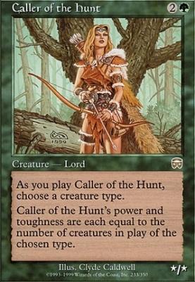 Mercadian Masques Foil: Caller of the Hunt