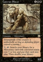 Mercadian Masques: Cateran Slaver