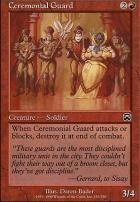 Mercadian Masques Foil: Ceremonial Guard