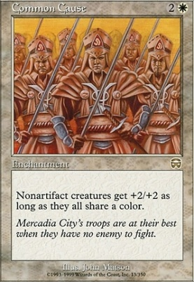 Mercadian Masques Foil: Common Cause