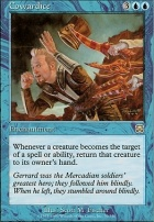 Mercadian Masques Foil: Cowardice