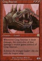 Mercadian Masques: Crag Saurian