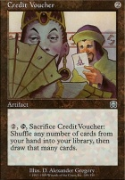 Mercadian Masques Foil: Credit Voucher