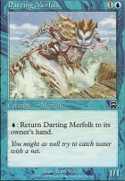 Mercadian Masques Foil: Darting Merfolk