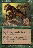 Mercadian Masques Foil: Deadly Insect