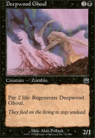 Mercadian Masques Foil: Deepwood Ghoul