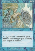 Mercadian Masques Foil: Diplomatic Escort