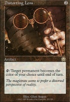 Mercadian Masques Foil: Distorting Lens