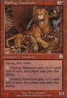 Mercadian Masques: Flailing Manticore