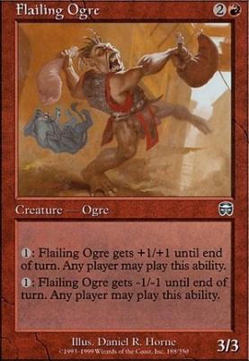 Mercadian Masques: Flailing Ogre