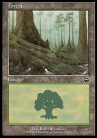 Mercadian Masques: Forest (348 B)