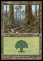Mercadian Masques: Forest (349 C)