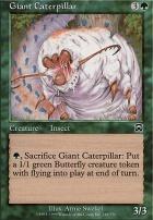 Mercadian Masques Foil: Giant Caterpillar
