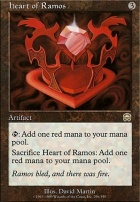 Mercadian Masques Foil: Heart of Ramos
