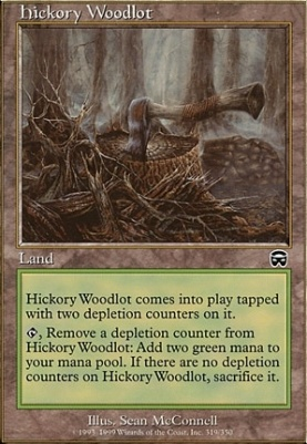 Mercadian Masques: Hickory Woodlot