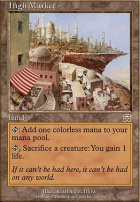 Mercadian Masques: High Market