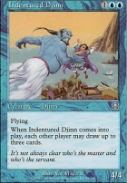 Mercadian Masques Foil: Indentured Djinn