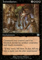 Mercadian Masques: Intimidation