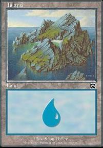 Mercadian Masques: Island (336 B)