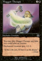 Mercadian Masques Foil: Maggot Therapy