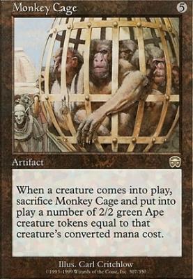 Mercadian Masques: Monkey Cage