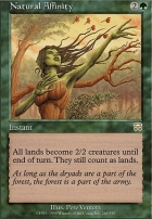 Mercadian Masques: Natural Affinity