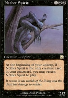 Mercadian Masques Foil: Nether Spirit