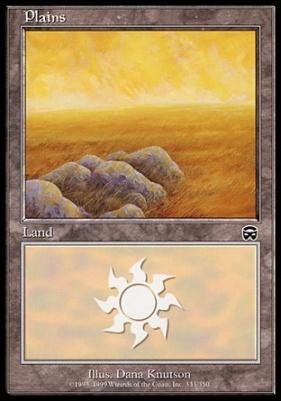 Mercadian Masques: Plains (333 C)