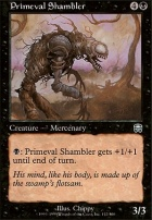 Mercadian Masques Foil: Primeval Shambler