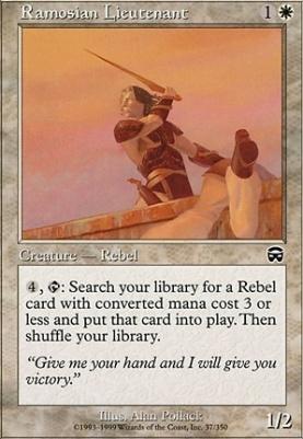 Mercadian Masques: Ramosian Lieutenant
