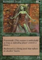 Mercadian Masques Foil: Rushwood Dryad
