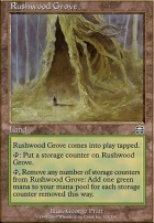Mercadian Masques Foil: Rushwood Grove