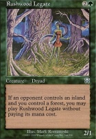 Mercadian Masques Foil: Rushwood Legate