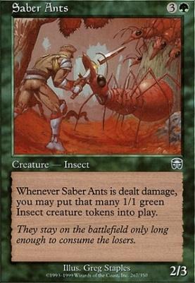 Mercadian Masques: Saber Ants