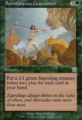 """Deck """"Saproling burst"""" at Trade Cards Online"""