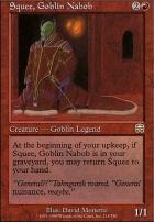 Mercadian Masques: Squee, Goblin Nabob