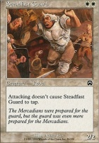 Mercadian Masques Foil: Steadfast Guard