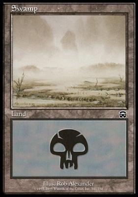 Mercadian Masques: Swamp (341 C)